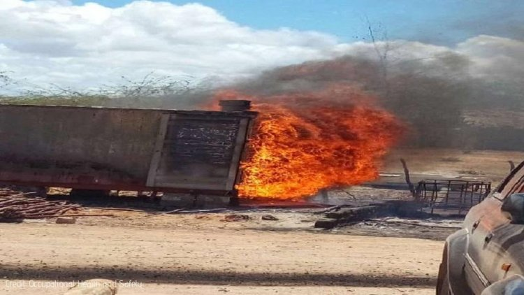 Student killed in Petrol Container Fire