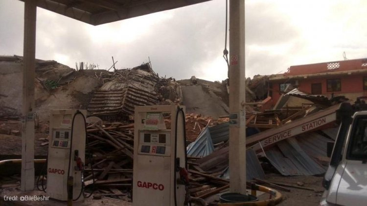 Several Feared Dead as Storey-Building Collapses in Malindi