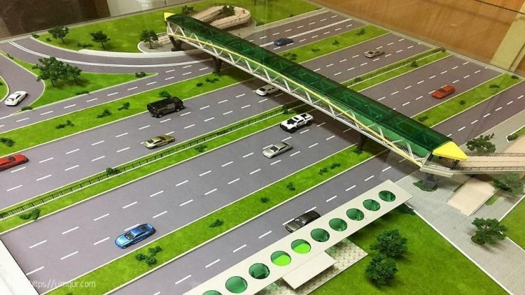 Construction of Footbridges on Thika Highway to be complete by June