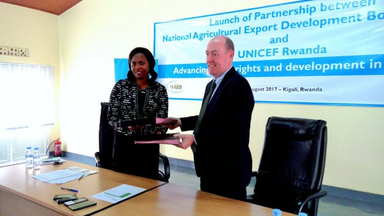 UNICEF Rwanda partners with NAEB on advancing child rights and development in Rwanda