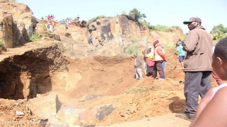 Two miners killed in quarry accident in Kisii
