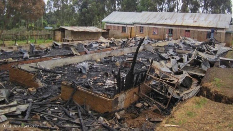 Fire Razes down Lukenya University Administration Block