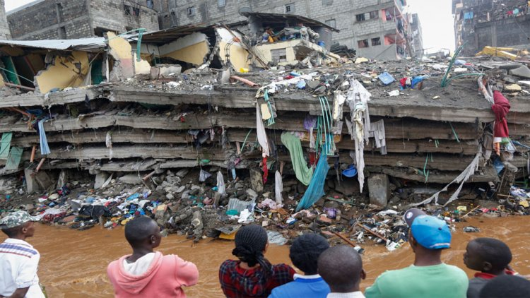 Building under Construction Collapses in Kapsabet, Nandi County