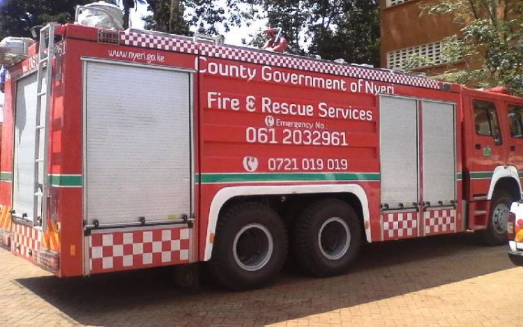 Firefighter Dead in Road Accident